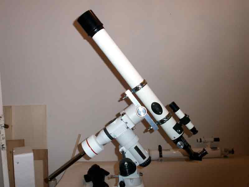 Astrotreff astronomie treffpunkt diy adapter für fernrohre auf